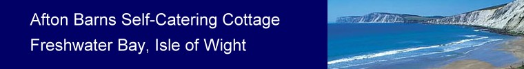 Afton Barns Self-Catering Cottage, Freshwater Bay, Isle of Wight